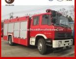 Cummins Engine 190HP 5, 000 Litres Foam Fire Truck