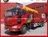 FAW 6X4 Truck with Crane 8-12 Tons