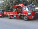 FAW Knukled Boom 10-16ton Truck with Crane