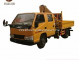 Jmc Small Construction Crane 2 Ton Hydraulic Mobile Crane Truck, Good Sale Truck Mounted Crane/ Truc