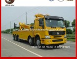 8X4 HOWO 60 Tons/60t/60ton/ Heavyduty Rotator Wrecker Towing Truck