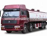 SINOTRUK STEYR 8*4 375HP Oil Trucks (Volume: 30000L)