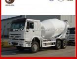 Sinotruk HOWO 6X4 Concrete Mixer Truck 8/9 Cubic