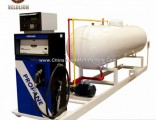 10 Cbm/10cbm/10m3/10 Cubic Meter LPG Gas Station with Dispenser