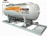20000liter/20000L/20000 Liter LPG Propane Gas Tank Skid Station