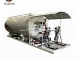 Manufacture Price Propane Tank LPG Filling Station LPG Skid Plant 10000liter