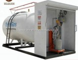 5cbm/5 Cbm/5m3/5 Cubic Meter LPG Gas Tank Filling Plant Station