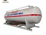 50 Cbm/50cbm/50m3/50 Cubic Meter LPG Gas Tank Filling Station