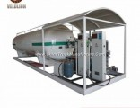 Hot Sale 10m3 LPG Filling Plant Skid Tank Stations for Bolivia