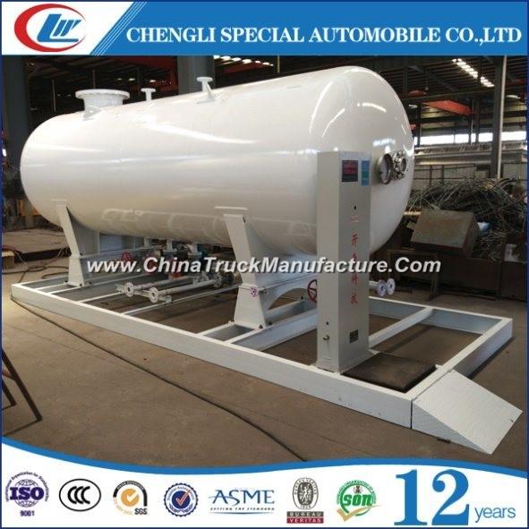 Mobile 5cbm LPG Skid Station 50cbm LPG Cylinder Filling Station