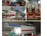 Factory  Design 20mt Mobile LPG Gas Refilling Skid Station