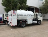 Factory  5500 Liters LPG Refilling Bobtail Truck for Cylinder and Hotel