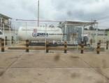 5cbm LPG Mounted Skid Station 20ton 5ton LPG Filling Station
