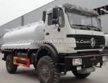 China Factory Sale 10m3 Euro3 Beiben 4X4 Fuel Tanker