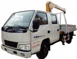 Factory Direct JAC Jmc 2ton 4X2 Truck with Crane