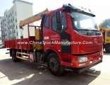 FAW 6.3ton 4X2 Truck Mounted with Crane