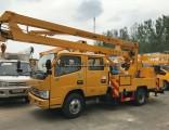 Working Bucket Cherry Picker Overhead Working Truck Hydraulic Aerial Cage Truck