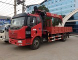 FAW 4X2 Crane Truck Mobile Crane Mini Truck Mounted Crane