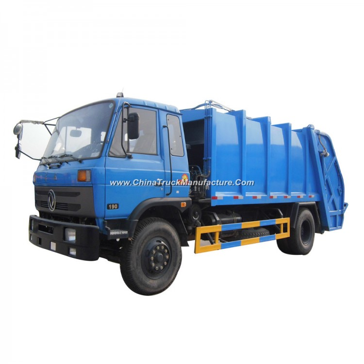 Dongfeng 4X2 Waste Collector Truck Compressed Garbage Truck