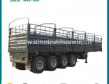 4 Axle 80 Ton Stake Cargo Semi Trailer