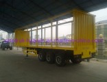 Sinotruk Curtain Side Semi Trailer with High Quality and Best Price for Sale