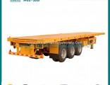 Tri-Axle Container Flat Bed Semi Trailer