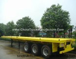 40 Feet 3 Axle Container Semi Trailer with Twist Lock