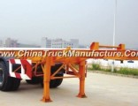 Sinotruk 2 Axles Container Carrier Skeletal Semi Trailer for Sale