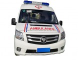Foton Chassis LHD Ylh5048xjh-V1 Middle Roof Diesel Engine Hospital ICU Transit Medical Clinic Ambula