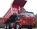 Dump Trucks Mining Lift Truck 336HP/371HP Hw76 Cab Mining Dump Truck