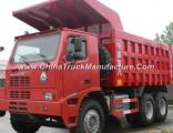 70 Tons Sinotruk Mining Tipper Truck HOWO 6X4 Mining Dump Truck