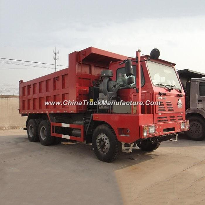 Sinotruk HOWO 420HP 6X4 Mining Tipper Truck 70 Ton