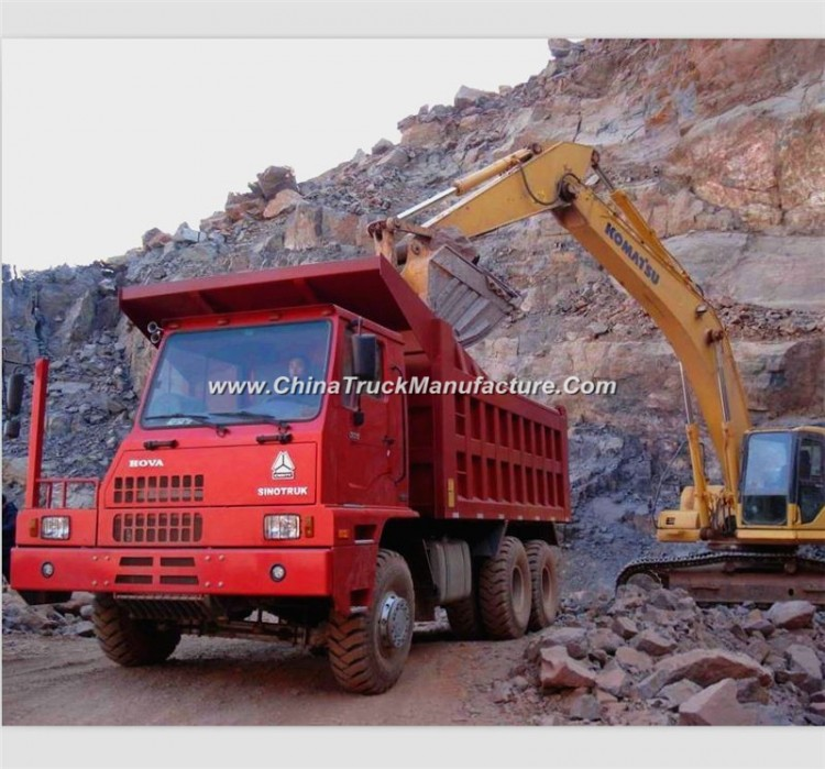Sinotruck-HOWO 371HP 6X4 70ton Mining Dump Truck Tipper