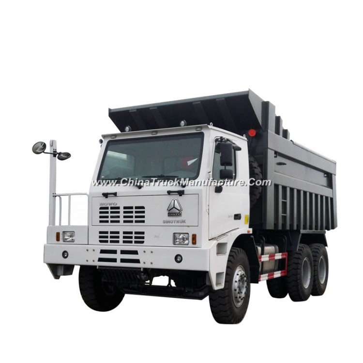 Ce Certificated Chinese HOWO 6X4 70ton Mining Dump Trucks