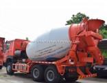 Sinotruk HOWO 6X4 9 Cubic Meters Cement Mixer Concrete Mixer Truck