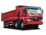 HOWO Truck Mini Size 50 Ton Sinotruk HOWO 371HP 8X4 Dump Truck