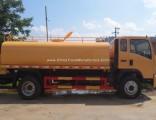 HOWO 4X2 Water Bowser Truck 10000 Liter Water Truck 1000 Gallon Water Tank Truck