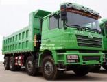 Shacman 8X4 371HP 12 Wheeler 50 Ton Tipper Lorry Dump Truck