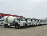 HOWO 6X4 10 Cubic Meters Cement Mixing Vehicle