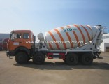Beiben 8X4 Heavy Duty 18 Cubic Meters Cement Mixing Transmit Vehicle