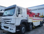 50 Tons 8*4 Rescue Tow Truck 4 Axles Wrecker