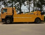 HOWO 4*2 12 Ton 12000kg Road Rescue Wrecker Car Carrier Remo