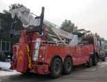 Manufacturer Sinotruk HOWO 371HP Heavy Duty 12 Wheelers Rhd 50 Ton Road Rescue Rotator to Zimbabwe T