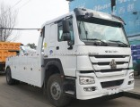 HOWO 25 Tons Hydraulic Type Recovery Towing Tow Truck Wrecker for Sale
