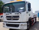 10 Ton 10ton Emergency Wrecker Towing Flat Deck Truck