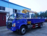 Foton 4X2 5tons Knuckle Truck with Crane
