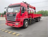 Customizable JAC 6*4 Left Hand Drive Truck Mounted Crane