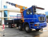 Shacman 16 Tons Mobile Heavy Duty Truck with Hydraulic Arm Crane