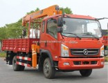8m Mobile Pickup Cargo Truck Crane with Good Condition