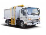 7.5cbm JAC Hang Barrel Type Compression Garbage Compactor Truck